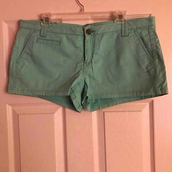 Express Pants - Teal shorts